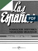 Elías de Tejada, Las Españas