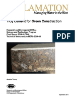 Tio2 Cement for Green Construction
