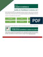 Planilha Viabilidade Economica Sienge