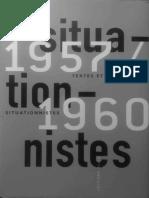 Guy Debord - Rapport Sur La Construction Des Situations