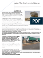 Senegal-logistique.net-Surcharge Des Véhicules LEtat Élève Le Ton Et Le Bâton Sur Les Transporteurs