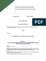Reglamento de La Ley de Impuesto Sobre La Renta 2003