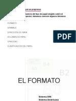El Formato de papel