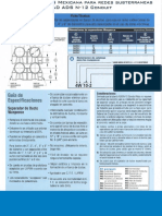 Especificacion de Separadores en Banco de Ductos - Pad Ads n12 Conduit