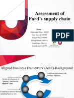 Ford_Aligned Business Framework (ABF)_Sajal