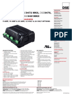 INTELLIGENT BATTERY CHARGERS DSE94xx MKII Data Sheet