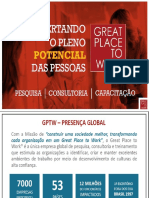 Prêmio Gptw- Melhores Empresas Para Se Trabalhar Em Alagoas 2017