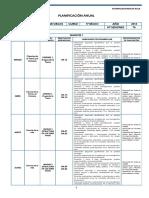 5ºciencias Naturales Planificacion - 5 Basico