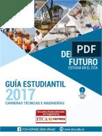 Guia Estudiantil 2017 ITCA