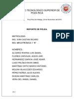 Reporte de Polea