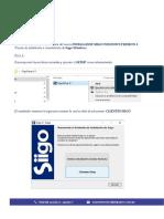 Manual Instalacion - Siigo Windows