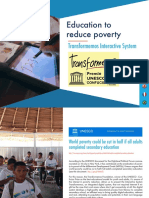 Education to reduce poverty - Transformemos Interactive System
