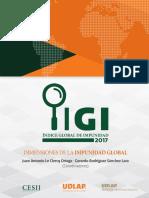 Estudio del Índice Global de Impunidad; el caso mexicano