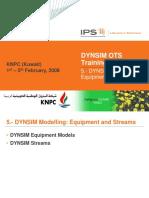 05 - DYNSIM Modelling Equipment and Streams.pdf