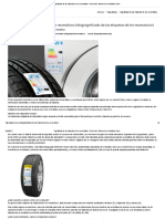 Significado de Las Etiquetas de Los Neumáticos - Red Vulco, Talleres de Neumáticos Vulco