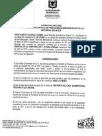 Alcance Aclaratorio Acta de Liquidación Contrato de Prestación de Servicios de Apoyo de la Gestión Nro. 005 de 2015