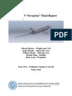 Aircraft Design Report