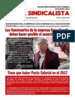 El Sindicalista Agosto 2017