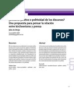 De diego- Discurso politico o politicidad de los.pdf