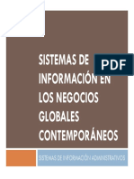 Sistemas de Información en los Negocios Globales Contemporáneos