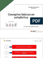 Clase 1 Conceptos Básicos en Estadística PDF