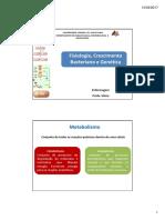 Fisiologia Crescimento e Genética Bacteriana ENF
