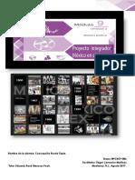 Módulo 9 Proyecto integrador  México en el Tiempo