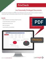 LexInsight PrivCheck Brochure