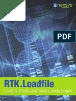 RTK_Loadfile - Loadfile Checks and Tweaks Made Simple