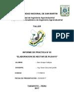 49177253 Informe 8 Preparacion de Nectar