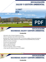 Socialización Salud Ocupacional y Gestión Ambiental 7-04-2017