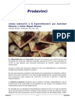 Como Sobrevivir a La Hiperinflacion Por Asdrubal Oliveros y Carlos Miguel Alvarez