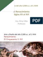 Hist Arte Renacimiento Cinquecento