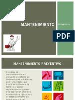 mantenimiento preventivo (hoteleria)