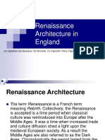 Renaissance Architecture in England