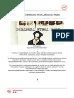 Ditaduras Na América Latina- História, Literatura e Ditadura