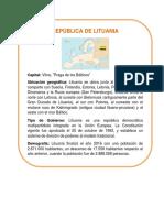 DATOS CURIOSOS LITUANIA