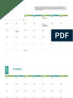 Calendario Busqueda Trabajo