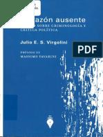 321 Ensayo sobre criminología y crítica política (Julio E. S. Virgolini).pdf