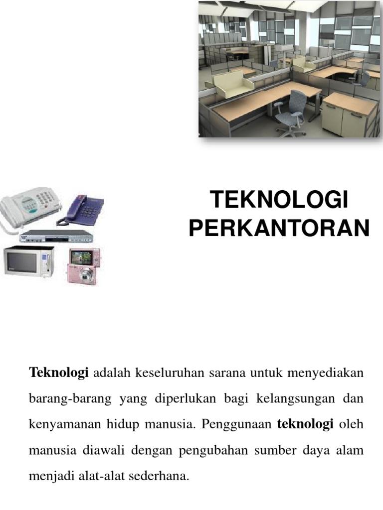 Teknologi Perkantoran1