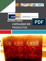 Catálogo Enciclopedia de Los Alimentos y Su Poder Curativo 3 Tomos