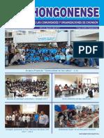 Boletin Informativo El Chongonense No 8 - Agosto 2017