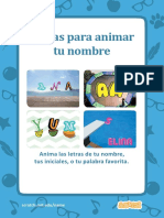 Animate Your Name Cards (Tarjeta - Sratch)
