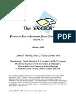 Erasor 2.0 English
