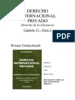 DER. INTERNACIONAL PRIVADO. GOLDSHMINDT-Capitulo 15-2