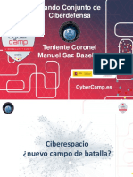 Operaciones Militares en El Ciberespacio