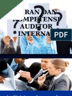 Peran Dan Kompetensi Auditor