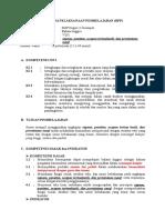 RPP Bahasa Inggris VII.1