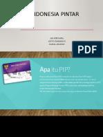 Program Indonesia Pintar (PIP)