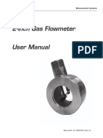 Nuflo Gas Flowmeter Manual
